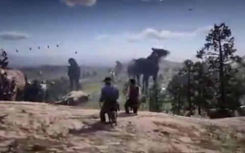 Este mod que modifica el tamaño de los animales mejora el Red Dead Redemption un 200%