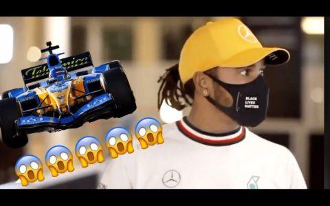 Lewis Hamilton no puede concentrarse con el sonido del R25 de Alonso sonando de fondo