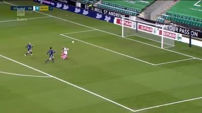 Gol demigrante, pero gol. Y encima en el minuto 94.