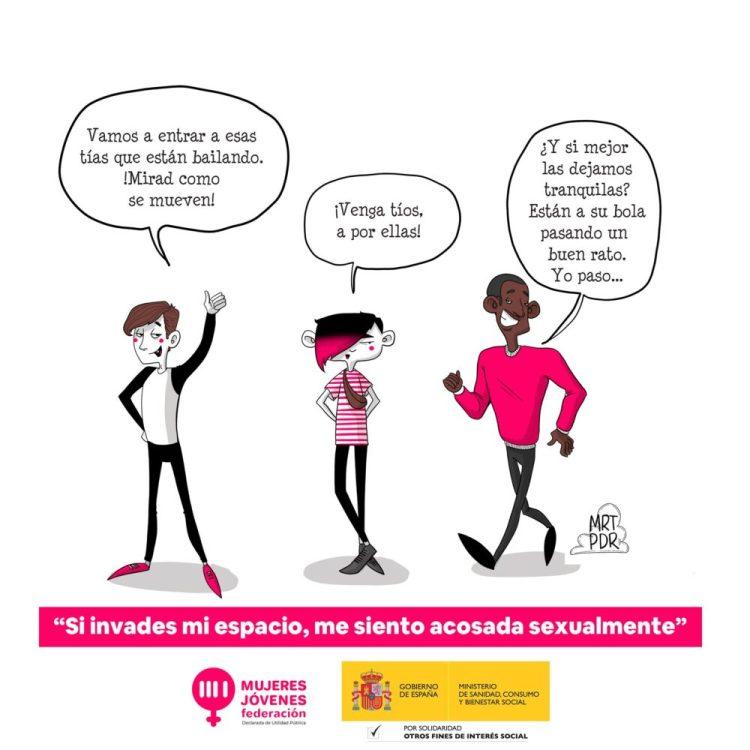 ¡La interacción entre hombres y mujeres heterosexuaIes debe acabar!