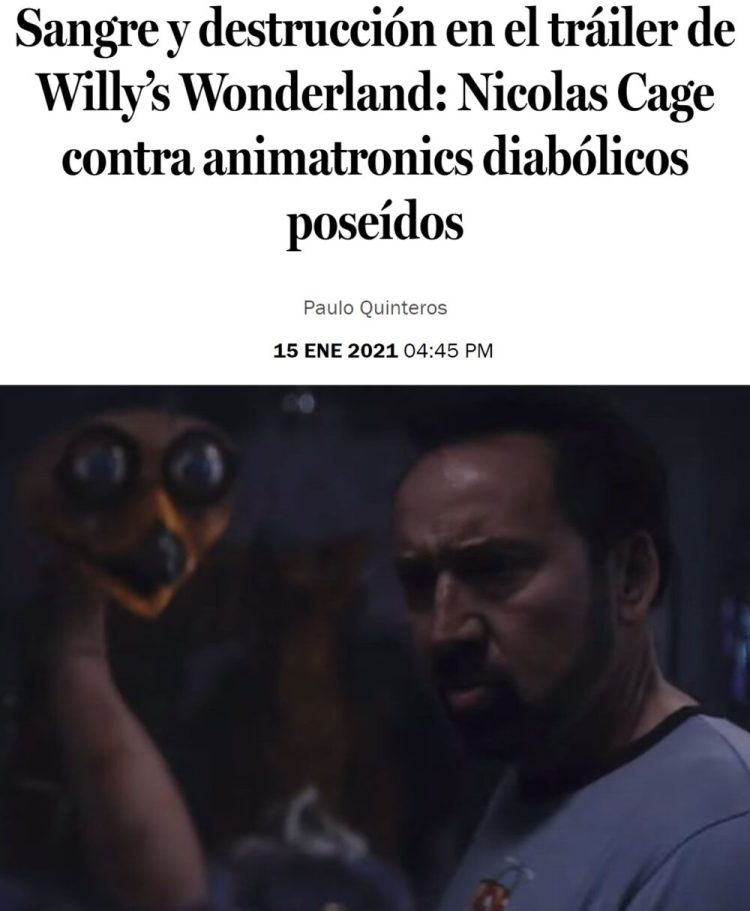Este es el tipo de películas que espero de 2021.