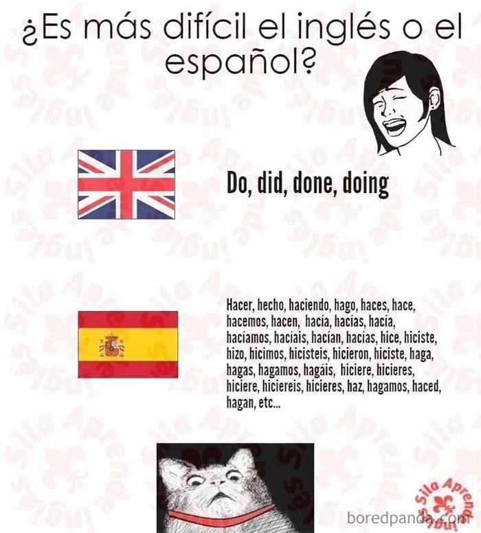 Cómo ven nuestro idioma los angloparlantes que intentan aprender español