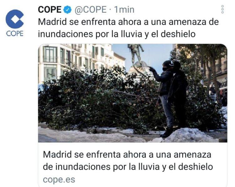 En Madrid os habéis pasado con el vicio y diosito está enviando las 10 plagas del apocalipsis...