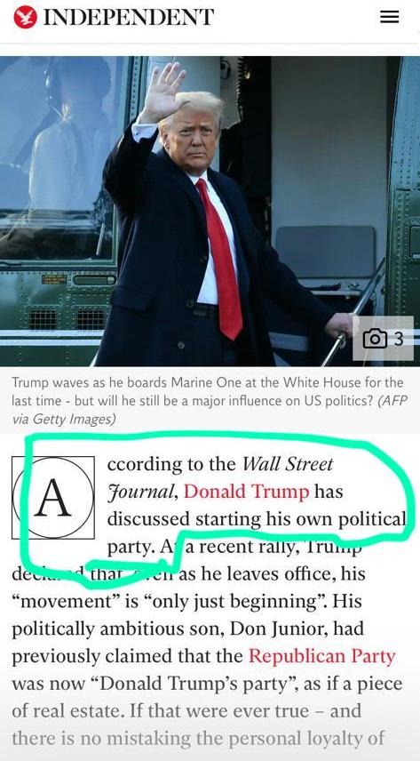 Donald Trump va a crear su propio partido, con casinos, ¡y muros!