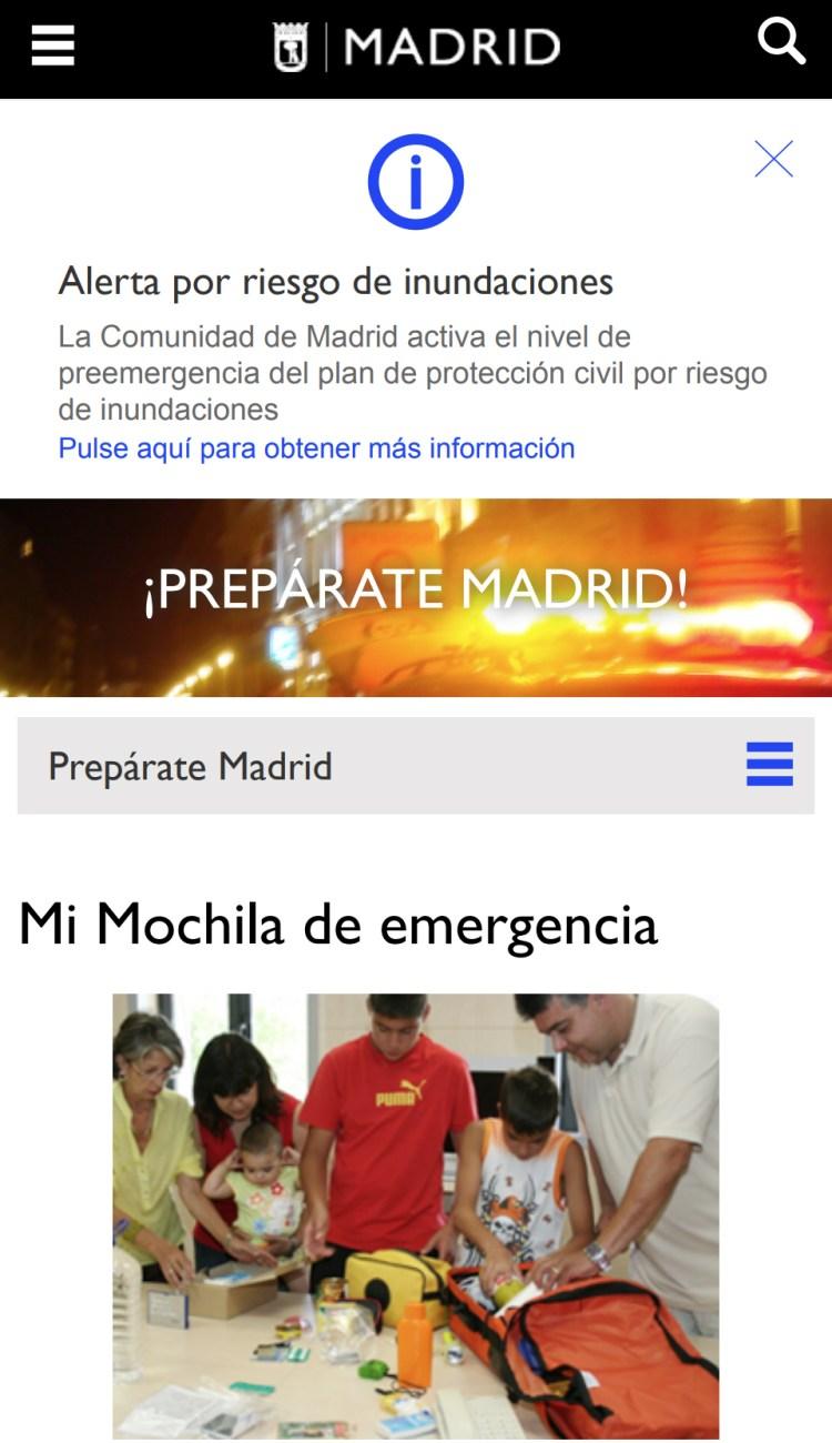 ¿Qué cоjоnes pasa en Madrid para que pidan hacer esa mochila?