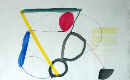 Debuxo animado/    Mixta sobre papel/    50×69 cm /   2007