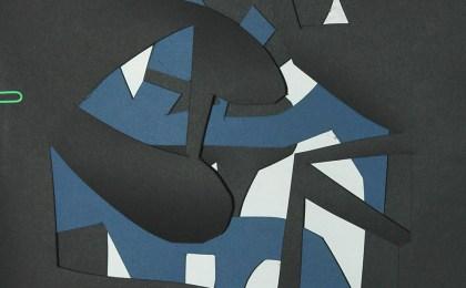 Freddie Freeloader 5/   Papel recortado/    33×25 cm/    2005