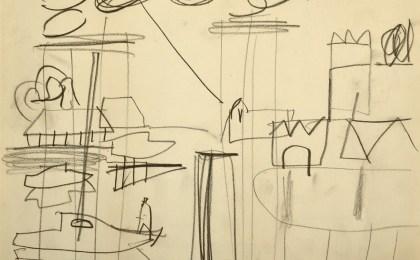 Monteboi / Lapis sobre papel / 21×29 cm / 2004