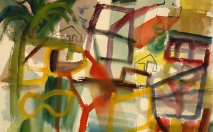 Río Verdugo /  Acuarela sobre papel / 51×66 cm / 2007