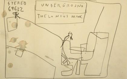 Thelonious/    Lapis sobre papel/     21×29 cm/    2012