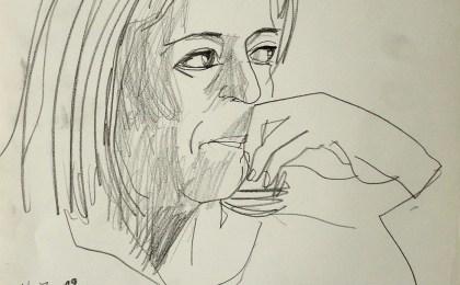 Machusa / Lapis sobre papel / 42×29 cm / 2009