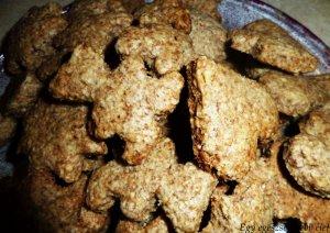 Mézeskalács ízű diós keksz