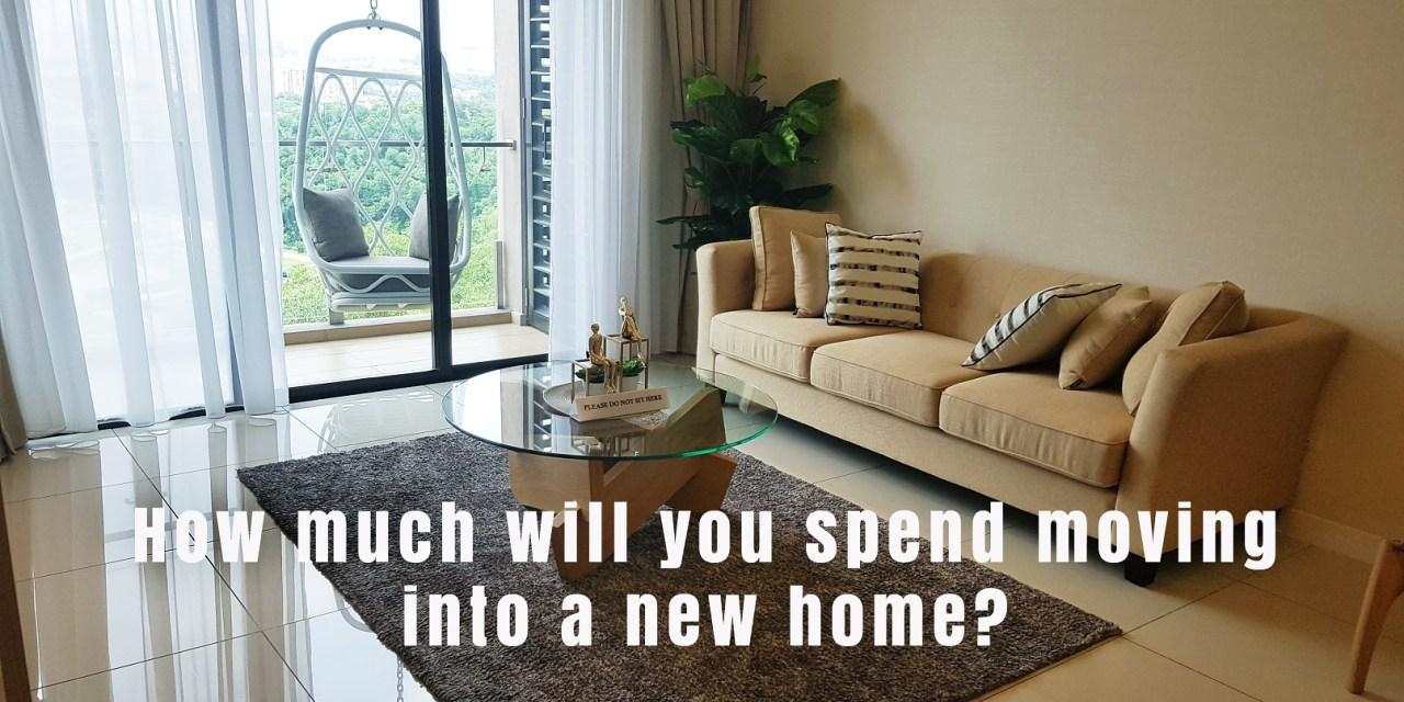 First home: How much will you spend moving into a new home?