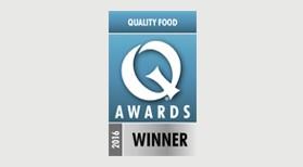 Cafe Quality Food Awards 2016