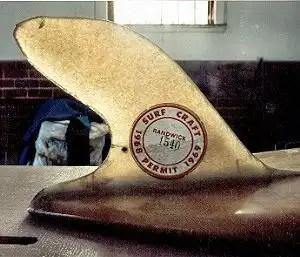 1963 early Dolphin Dorsal Fin