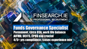 Funds governance specialist