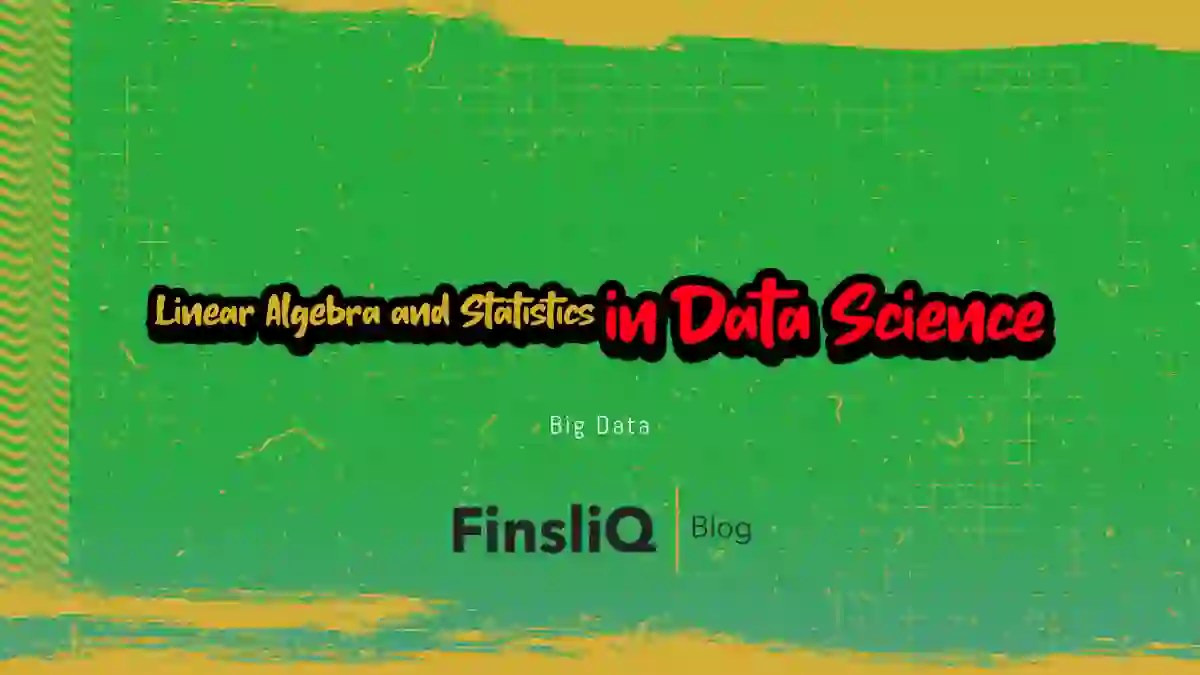 Linear Algebra and Statistics in Data science