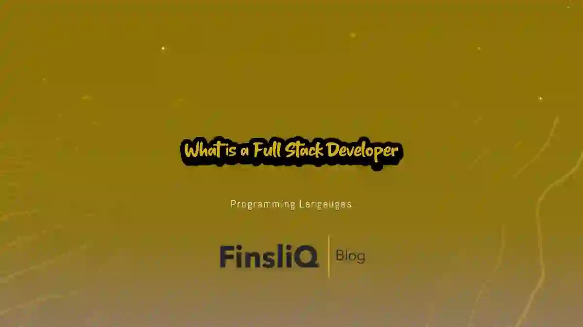 What is a Full Stack Developer Engineer