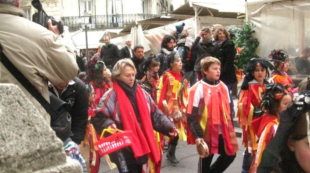 France:  Parade Stalking