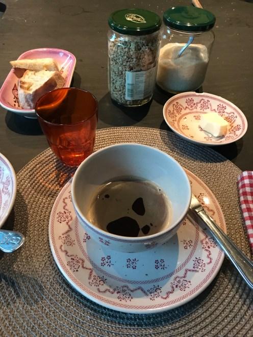 Breakfast in Angers