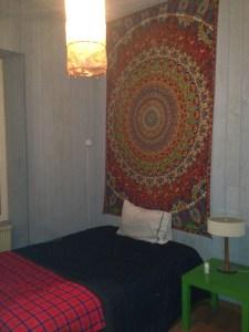 My room at Rue Joachim du Bellay