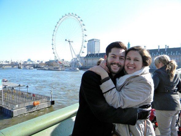 Loving! Loving! Loving! And the London Eye!