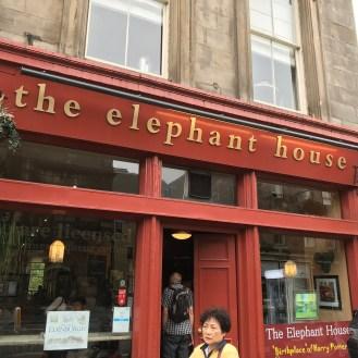 "Elephant House - ""Birthplace of Harry Potter"""