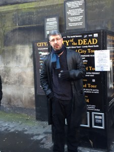 Our City of the Dead tour guide!