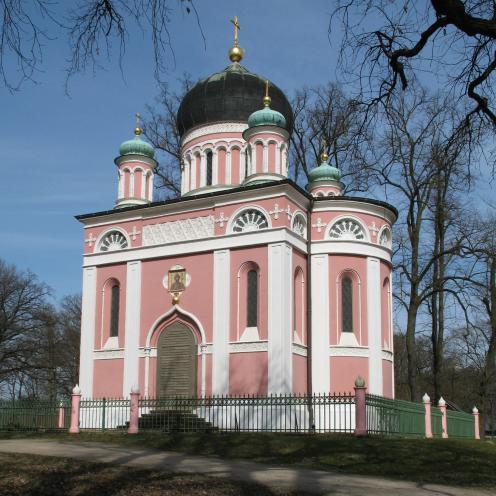 Potsdam: Alexander-Newski-Kirche der Siedlung Alexandrowka