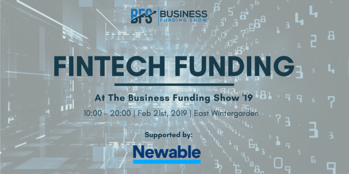 Fintech Events Conferences London 2019 - Fintech Funding at the Business Funding Show 2019