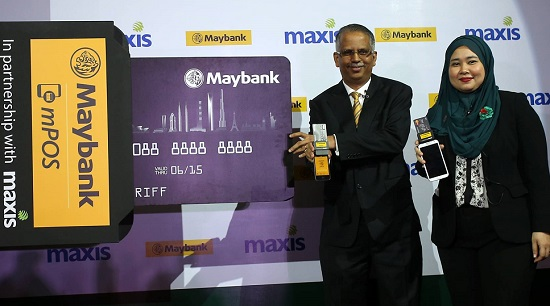 Maybank partners Maxis to introduce mPOS service for SMEs