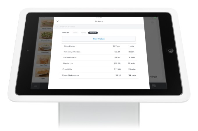 Square rolls out Open Tickets so you can keep your tab open at bars
