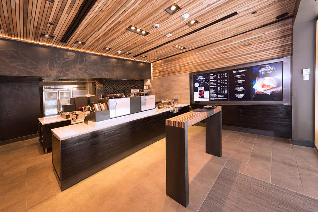 Starbucks Builds A Store With No Line