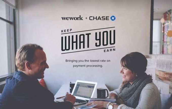 WeWork Partners With Chase To Offer Discounted Commerce Services To Members