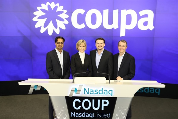 Coupa Software Announces Closing of Initial Public Offering and Full Exercise of the Underwriters' Option to Purchase Additional Shares
