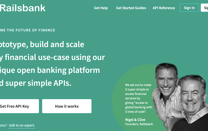 Railsbank, the Banking-as-a-Service, raises $37M in growth funding