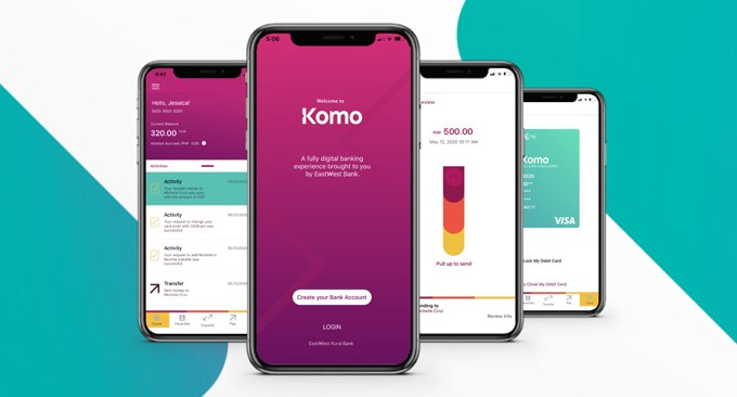 EastWest launches Komo, the Philippines' first homegrown all-digital bank