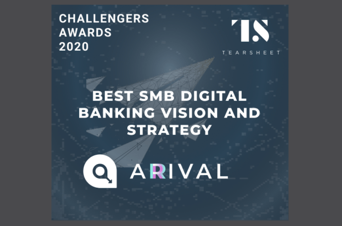 Tearsheet: Best SMB Digital Banking Vision & Strategy: Arival Bank