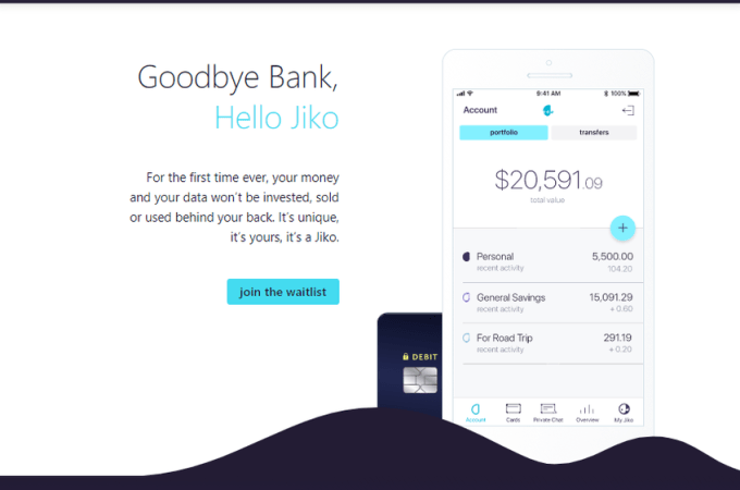 Jiko raises $40 million for its challenger bank