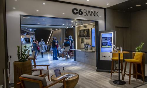 Primeira loja física do C6 Bank em SP para público de alta renda ficará aberta até 4 de abril