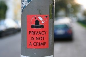 Privacidad: Privacy is not a crime