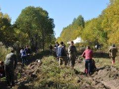 Почта Банк восстанавливает леса в Гурьевском лесничестве Кузбасса