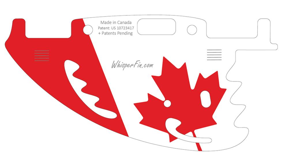 Canada flag WhisperFin