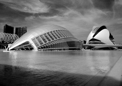 L'Hemisferic and Opera house