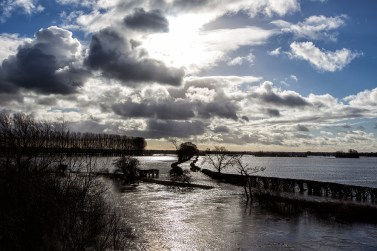 Flooded Dee