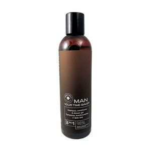 Green Feel's Man 3 in 1 Shampoo, Conditioner and Shower Gel