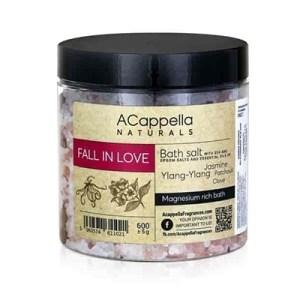 Acappella Natural Fall In Love Premium Bath Salts