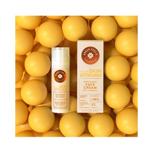 Green feels face cream with oranges 50ml