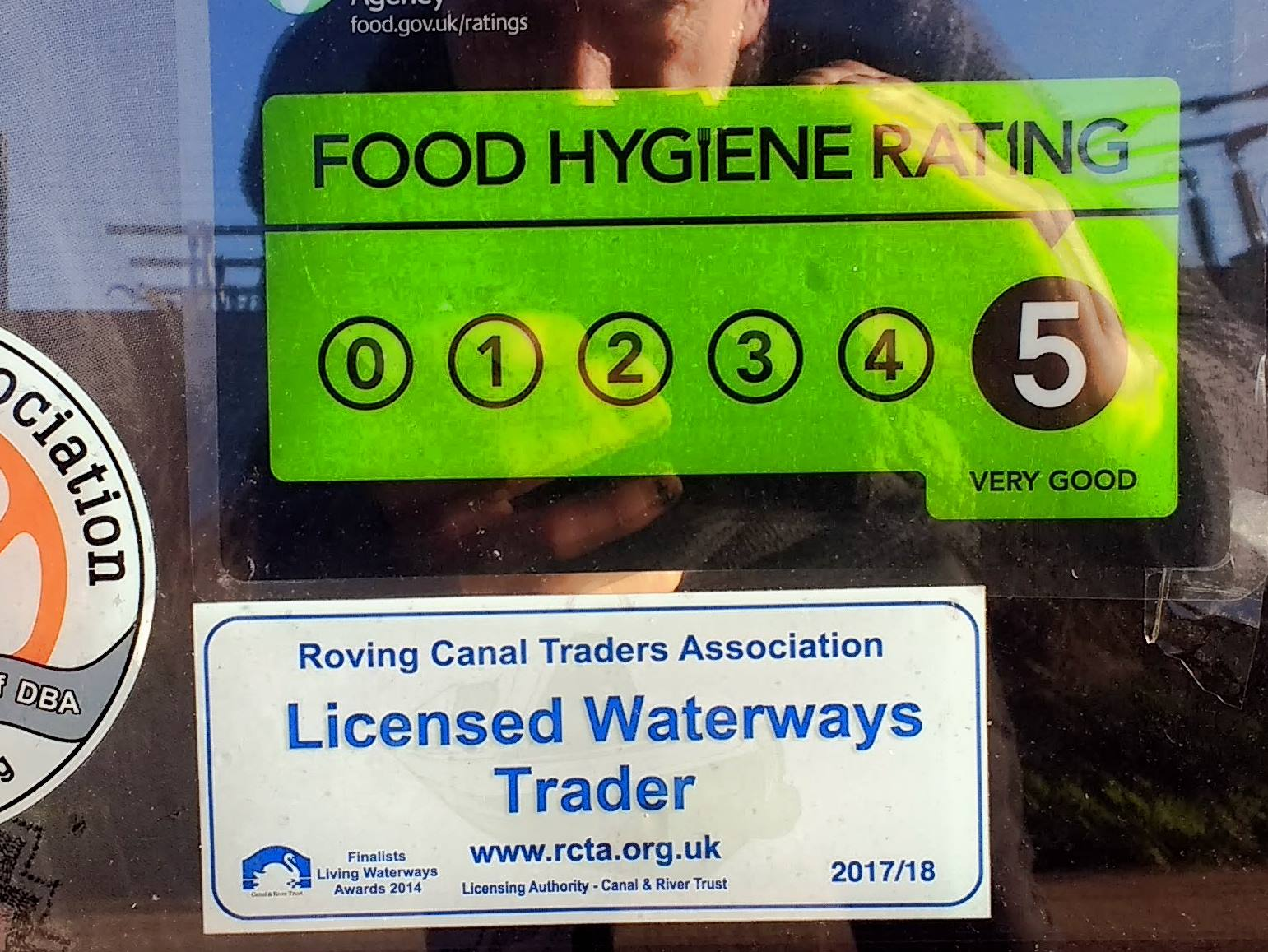 Our 5-star food hygiene rating from Dacorum Borough Council