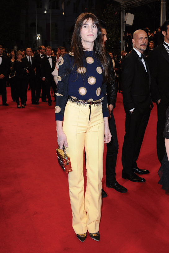Charlotte Gainsbourg, en Louis Vuitton